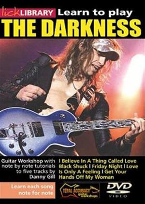 Rent Lick Library: Learn to Play the Darkness Online DVD Rental