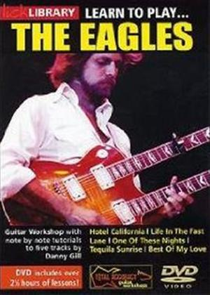 Rent Lick Library: Learn to Play the Eagles Online DVD Rental