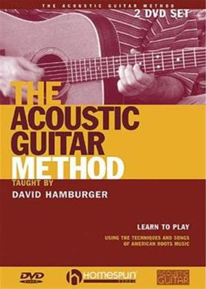 Rent David Hamburger: The Acoustic Guitar Method Online DVD Rental