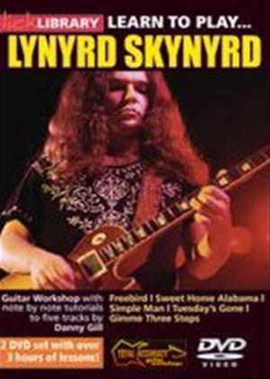 Rent Lick Library: Learn to Play Lynyrd Skynyrd Online DVD Rental