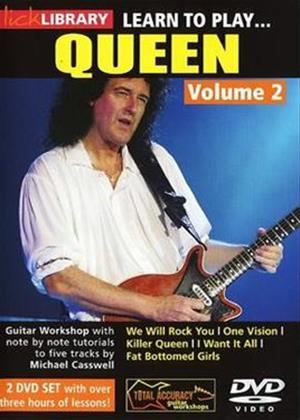 Rent Lick Library: Learn to Play Queen: Vol.2 Online DVD Rental