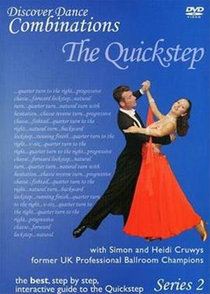 Rent Discover Dance Combinations: The Quickstep - Series 2 Online DVD Rental
