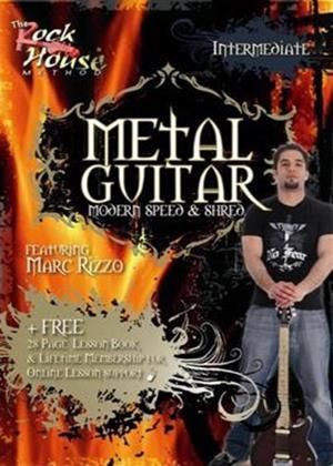 Rent The Rock House Method: Metal Guitar Intermediate Online DVD Rental