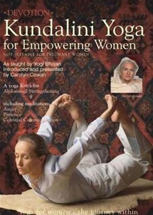 Rent Kundalini Yoga for Empowering Women Online DVD Rental