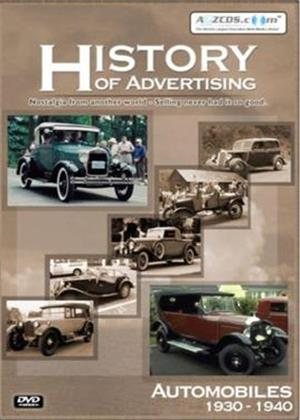 Rent History of Advertising: Automobiles 1930-1940 Online DVD Rental