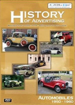 Rent History of Advertising: Automobiles 1950-1960 Online DVD Rental