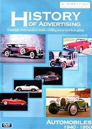 Rent History of Advertising: Automobiles 1940-1950 Online DVD Rental