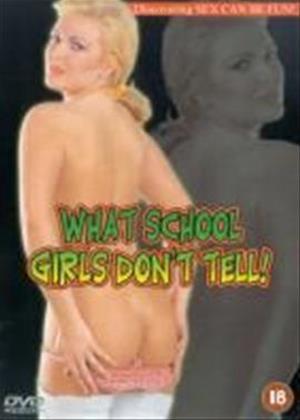 Rent What Schoolgirls Don't Tell Online DVD Rental