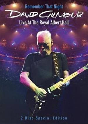 Rent David Gilmour: Remember That Night Online DVD Rental