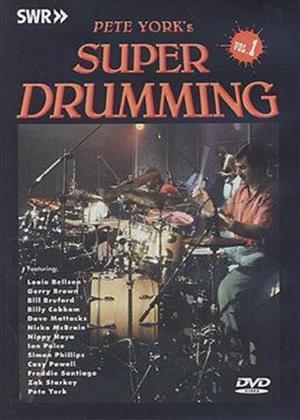 Rent Pete York's Super Drumming: Vol.1 Online DVD Rental