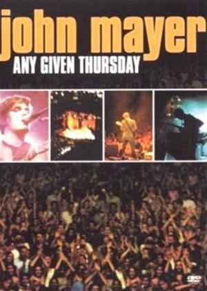 Rent John Mayer: Any Given Thursday Online DVD & Blu-ray Rental