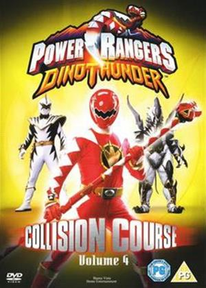 Rent Power Rangers: Dino Thunder: Collision Course: Vol.4 Online DVD & Blu-ray Rental