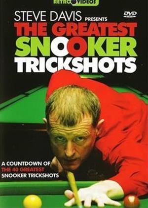 Rent Steve Davis: Greatest Snooker Trickshots Online DVD Rental