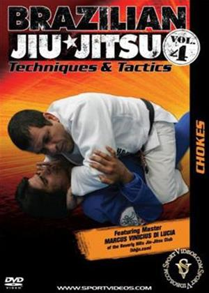 Rent Brazilian Jiu Jitsu Techniques and Tactics 4: Chokes Online DVD Rental