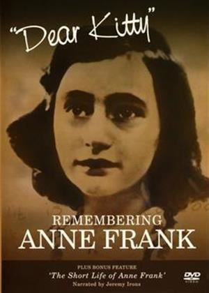 Rent Dear Kitty: Remembering Anne Frank Online DVD Rental