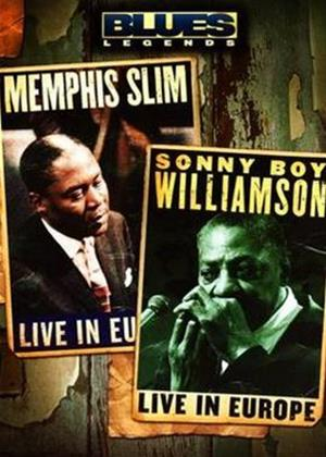 Rent Memphis Slim and Sony Boy Williamson: Blues Legends Online DVD Rental