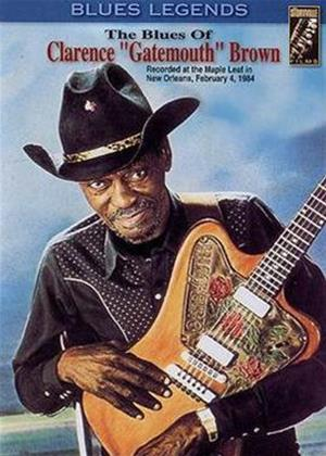 Rent Clarence Gatemouth Brown: The Blues of Clarence Gatemouth Online DVD Rental