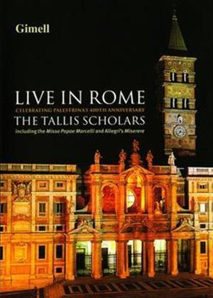 Rent The Tallis Scholars: Live in Rome Online DVD Rental