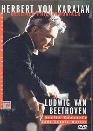 Rent Beethoven: Violin Concerto: Herbert Von Karajan Online DVD Rental