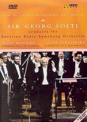 Rent Anton Bruckner: Symphony No. 3 / Igor Stravinsky: Symphony in Three Movements Online DVD Rental