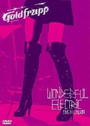Rent Goldfrapp: Wonderful Electric: Live in London Online DVD Rental