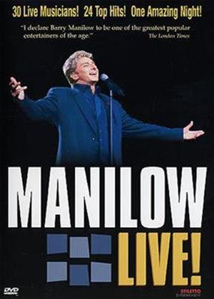 Rent Barry Manilow: Live! Online DVD Rental