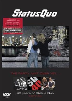 Rent Status Quo: The Party Ain't Over Yet: 40 Years of Status Quo Online DVD Rental