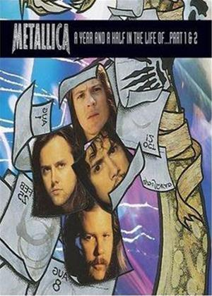 Rent A Year and a Half in the Life of Metallica: Part 1 and 2 Online DVD Rental