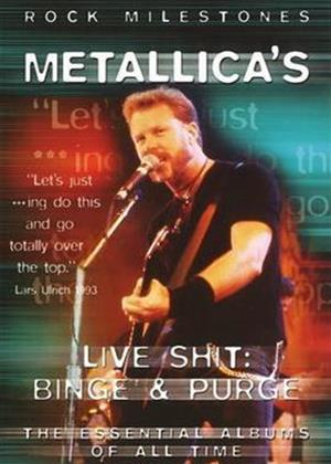 Rent Metallica's: Live Shit: Binge and Purge Online DVD Rental