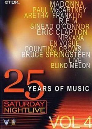Rent Saturday Night Live: 25 Years of Music: Vol.4 Online DVD Rental