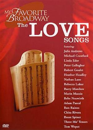 Rent My Favourite Broadway: Love Songs Online DVD Rental