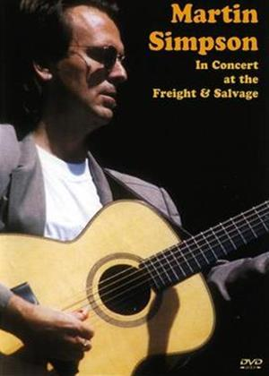 Rent Martin Simpson in Concert Online DVD Rental