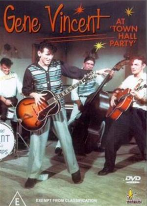 Rent Gene Vincent: At Town Hall Party Online DVD Rental
