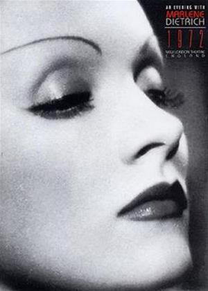 Rent Marlene Dietrich: An Evening With Online DVD Rental