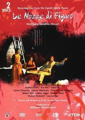 Rent Mozart: Le Nozze Di Figaro: Zurich Opera House Online DVD Rental
