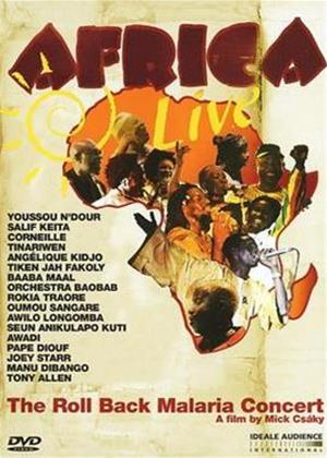 Rent Africa Live: The Roll Back Malaria Concert Online DVD Rental