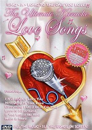 Rent Ultimate Karaoke Love Songs Online DVD Rental