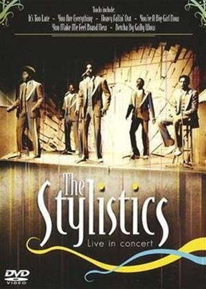 Rent The Stylistics: Live in Concert Online DVD Rental