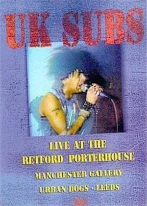 Rent UK Subs: Live at the Retford Porterhouse Online DVD Rental