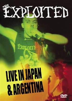 Rent The Exploited: Live in Japan and Argentina Online DVD Rental