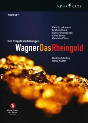 Rent Wagner: Das Rheingold: Teatre Del Liceu Barcelona Online DVD Rental