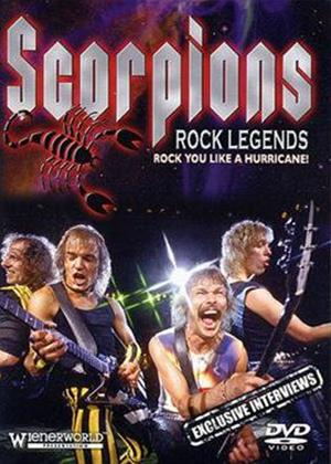 Rent Scorpions: Rock Legends Online DVD Rental