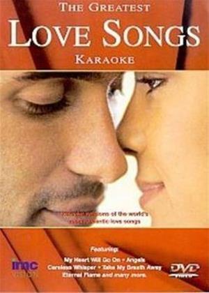 Rent Karaoke: The Greatest Love Songs Online DVD Rental