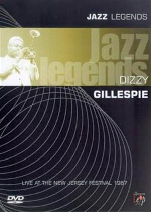 Rent Jazz Legends: Dizzy Gillespie Online DVD Rental