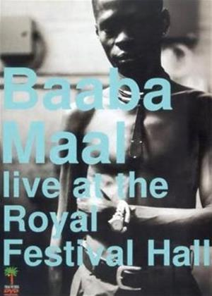 Rent Baaba Maal: Live at the Festival Hall Online DVD Rental