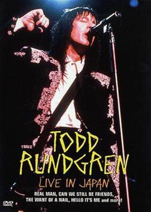 Rent Todd Rundgren: Live in Japan Online DVD Rental
