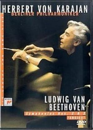Rent Beethoven: Symphony Nos. 2 and 3: Herbert Von Karajan Online DVD Rental
