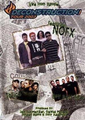 Rent Deconstruction Tour 2003 Online DVD Rental
