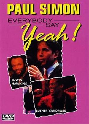 Rent Paul Simon: Everybody Say Yeah! Online DVD Rental