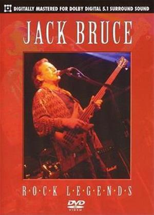 Rent Jack Bruce: Rock Legends Online DVD Rental